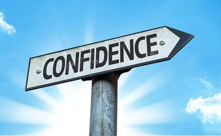 Confidencesignwithabeautifulday