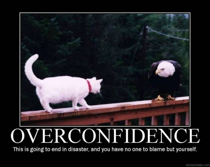 Sociopath World: Overconfidence